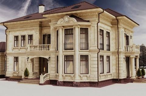 Архитектурный фасадный декор из пенополистирола