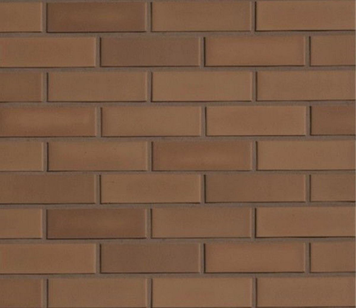 Клинкерная фасадная плитка под кирпич Roben Braun glatt, 240*9*71 мм