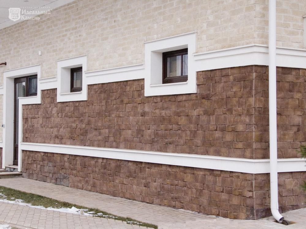 Облицовочный камень Гранитный скол, цвет 7