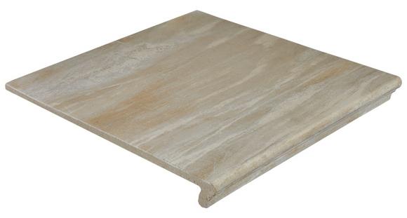 Фронтальная клинкерная ступень Ceramica Mayor Fossil Salt
