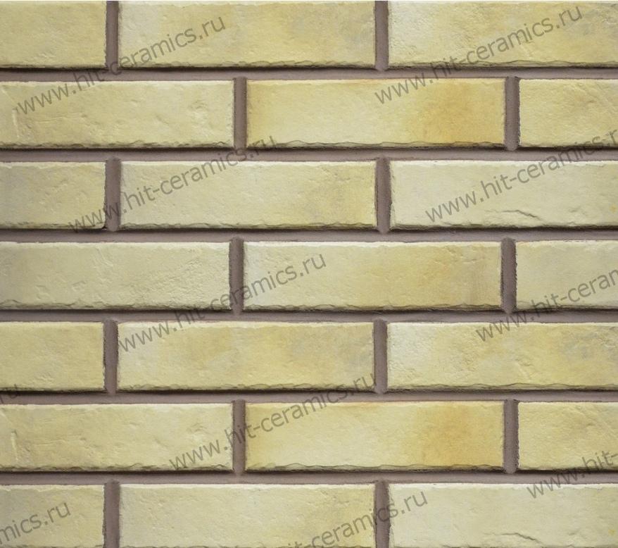 Фасадные термопанели с клинкерной плиткой Retro Brick Salt