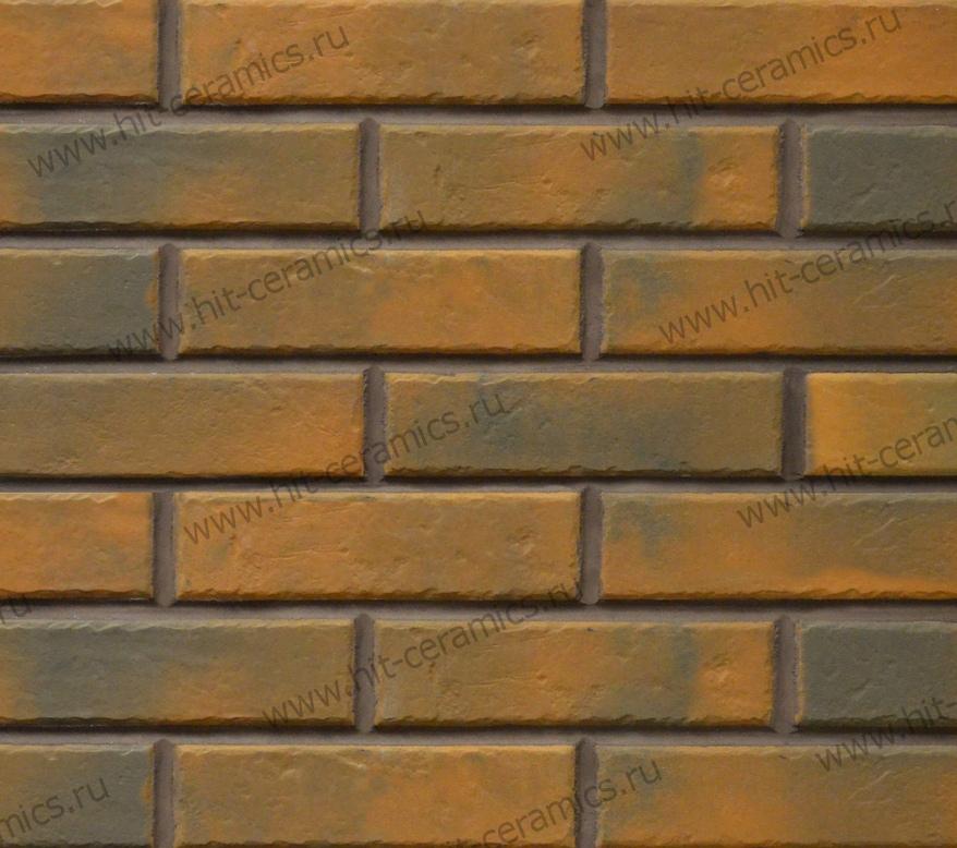 Фасадные термопанели с клинкерной плиткой Retro Brick Chilli