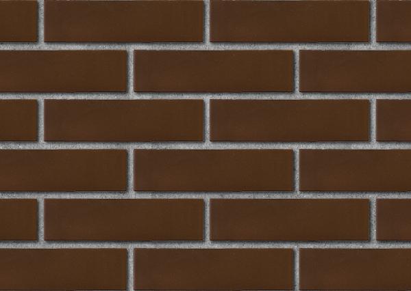 Кирпич лицевой керамический ЛСР пустотелый коричневый рустик