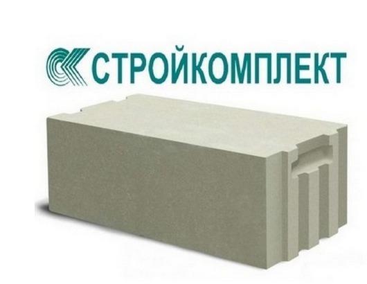 Газобетонные блоки Стройкомплект (D500) 100*250*600 мм