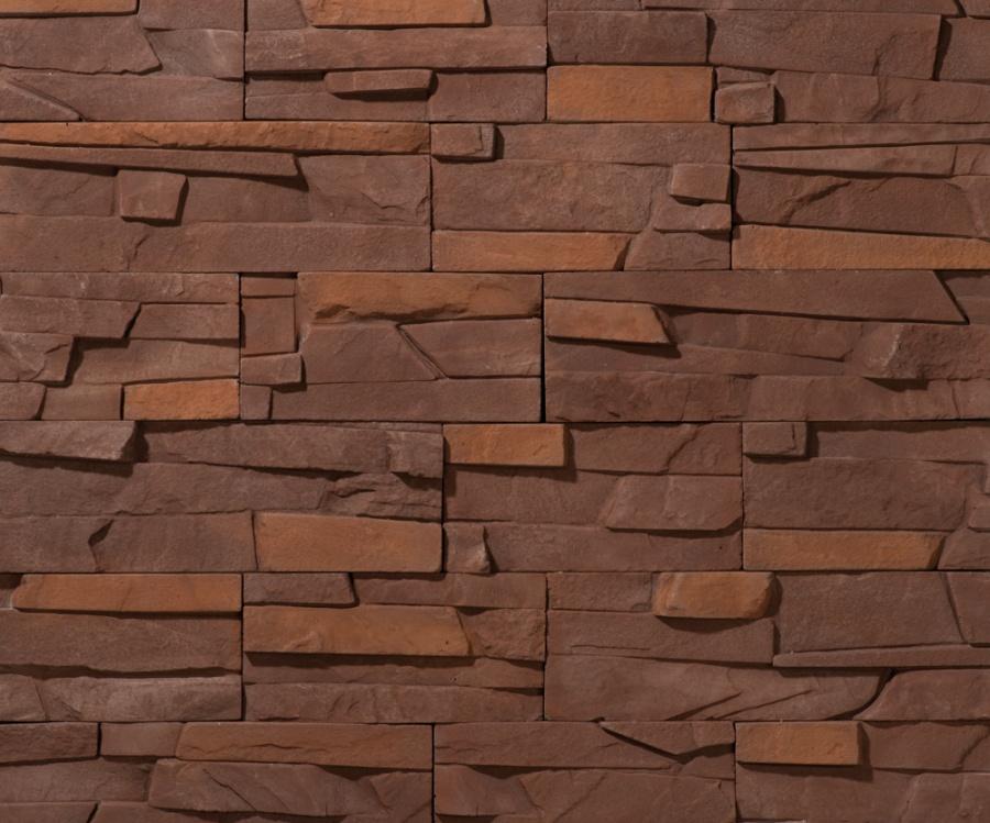 Облицовочный камень Тонкий пласт, цвет 25