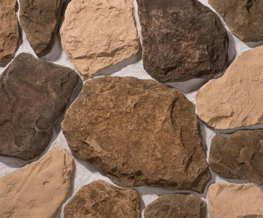 Облицовочный камень Бут, цвет 2