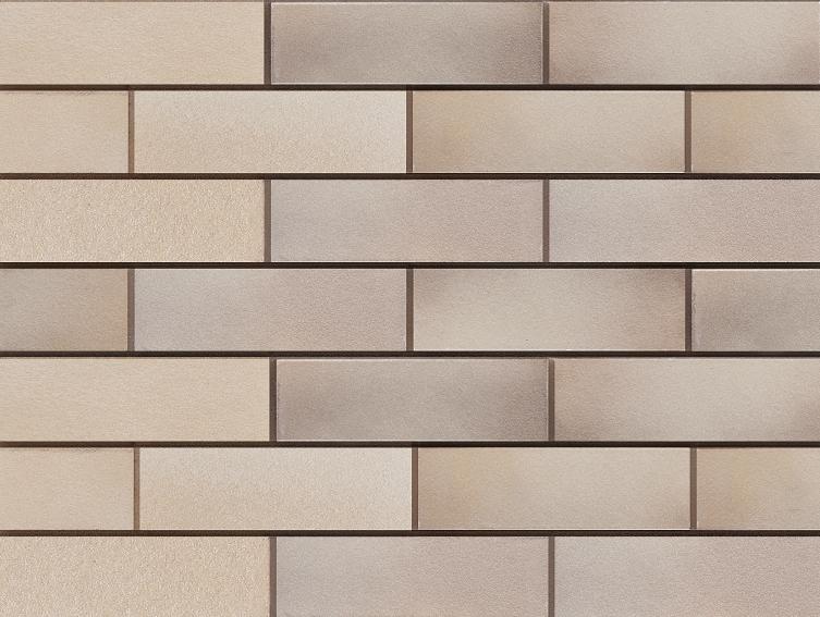 Клинкерная плитка для вентилируемого фасада Elmshorn Ockergrau