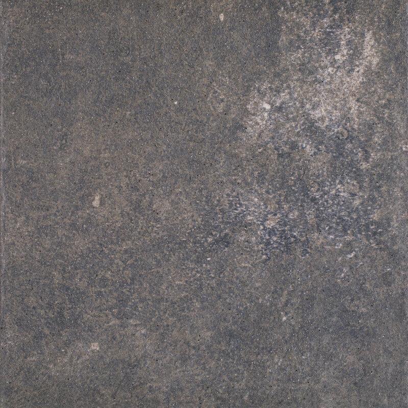 Угловая клинкерная ступень с капиносом Paradyz Viano Antracite, 330*330*11 мм