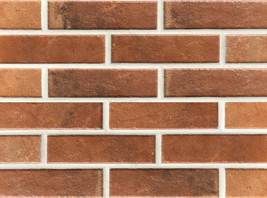 Клинкерная фасадная плитка Paradyz Scandiano Rosso