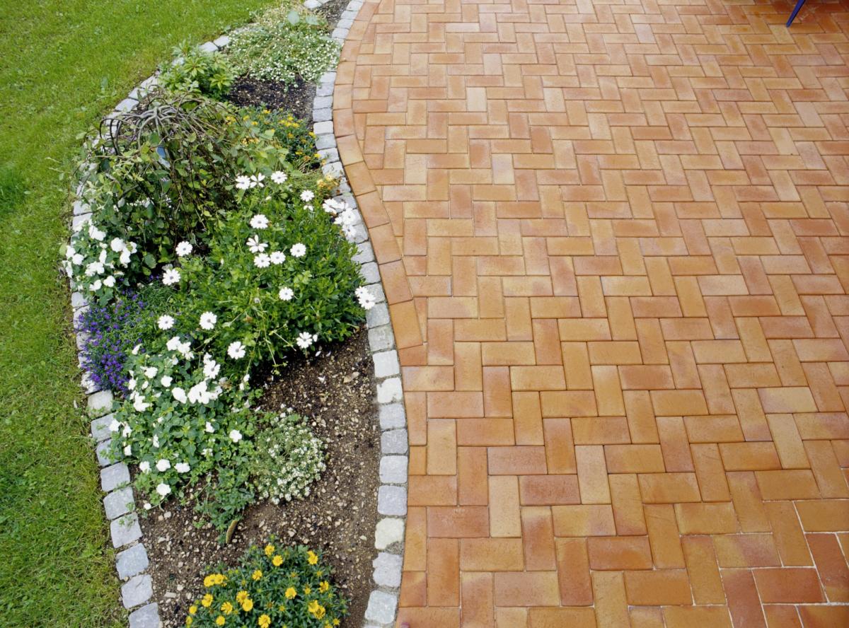 Тротуарная клинкерная брусчатка Vandersanden Radeberg, 200*100*45 мм