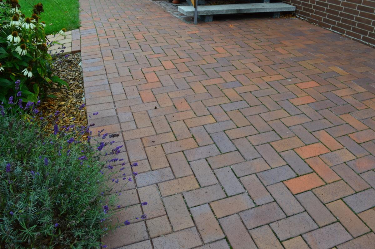 Тротуарная клинкерная брусчатка Vandersanden Meran, 200*100*45 мм