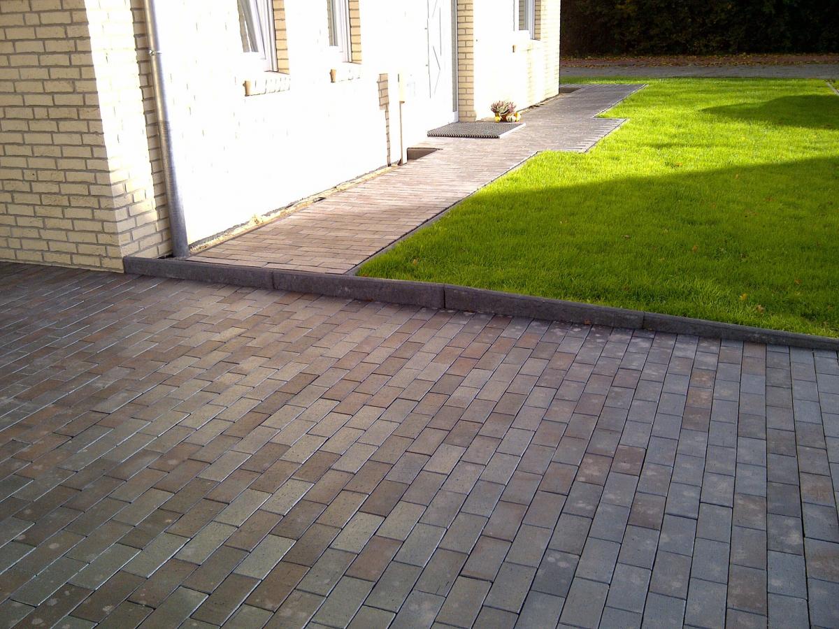 Тротуарная клинкерная брусчатка Vandersanden Genova O., 200*100*45 мм