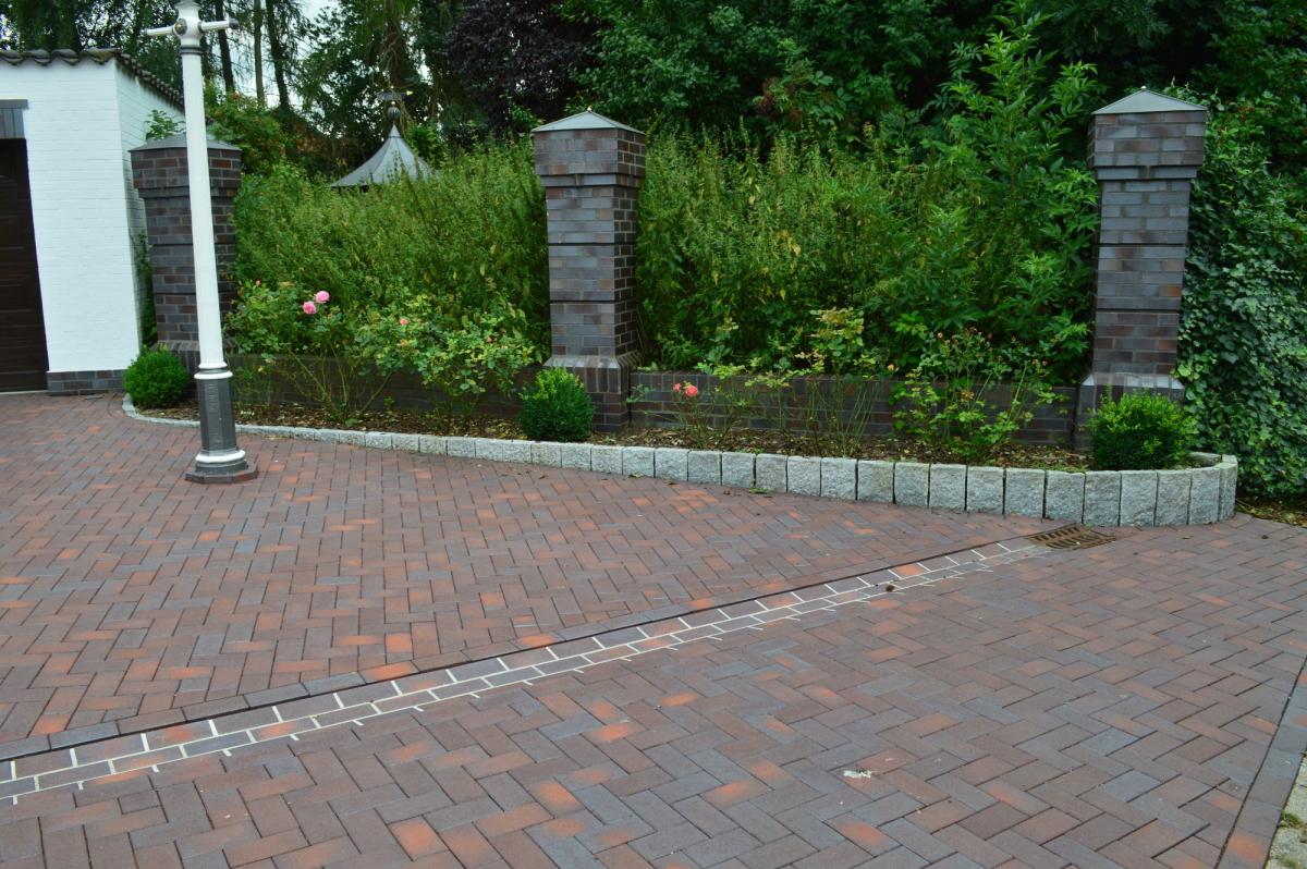 Тротуарная клинкерная брусчатка Vandersanden Calau 52, 200*100*52 мм