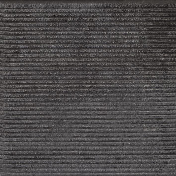 Фронтальная клинкерная ступень простая Paradyz Bazalto Grafit, 300*300*11 мм
