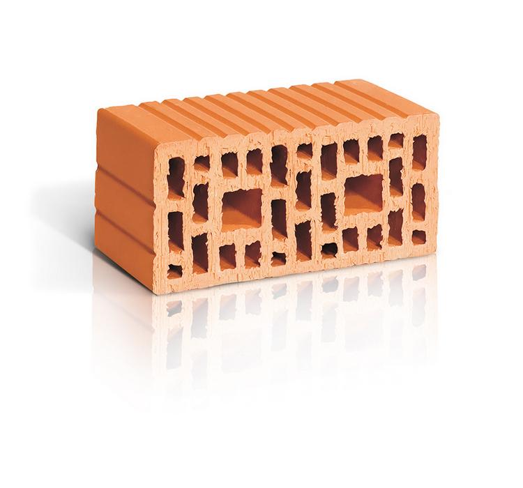 Поризованный рядовой блок RAUF Therme 2,1NF, 250*120*140