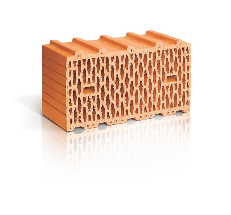 Поризованный рядовой блок RAUF Therme 14,3NF, 510*250*219