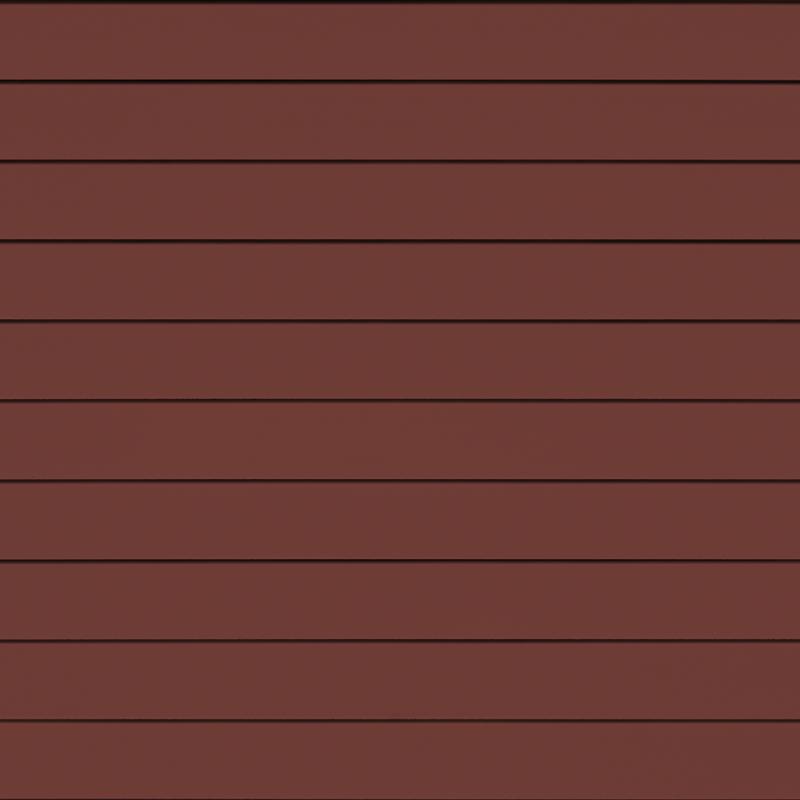 Фиброцементная панель Cedral Smooth (гладкий), цвет С61 красная земля