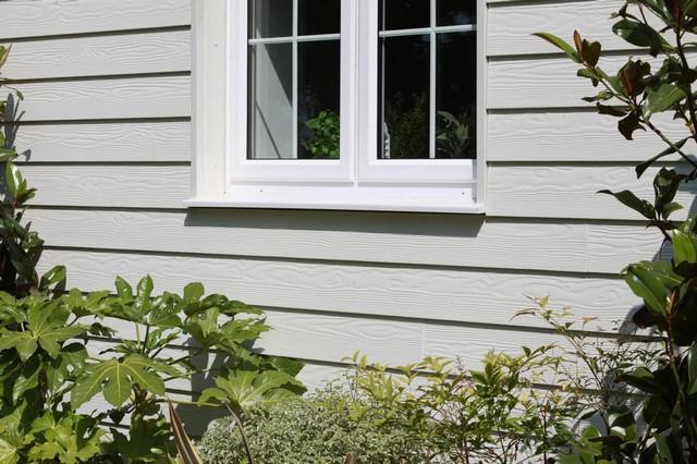 Фиброцементная панель Cedral Click Wood (дерево), цвет С05 серый минерал