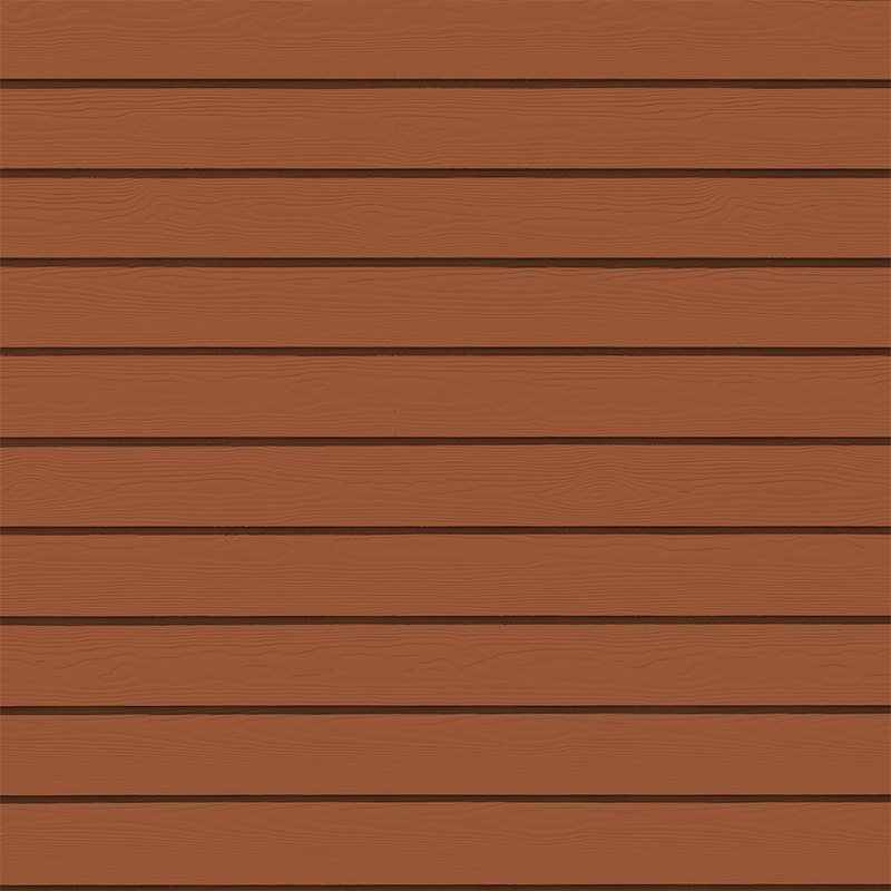 Фиброцементная панель Cedral Wood (дерево), цвет С32 бурая земля