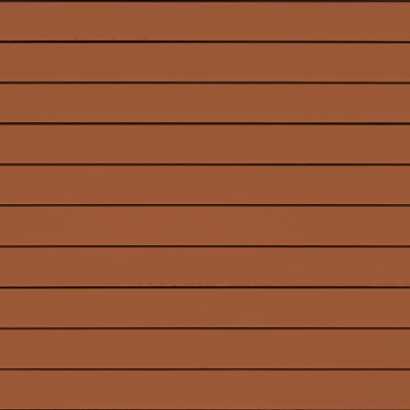 Фиброцементная панель Cedral Smooth (гладкий), цвет С32 бурая земля