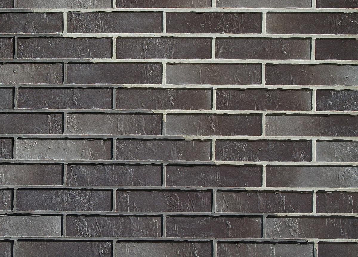 Клинкерная фасадная плитка под кирпич ABC Dresden Schieferstruktur, 240*71*7 мм