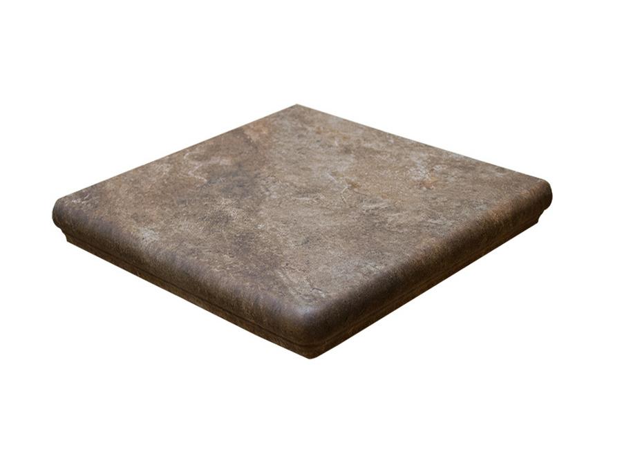 Ступень угловая Interbau Abell 271 Красно-коричневый