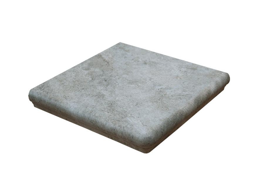 Ступень угловая Interbau Abell 274 Серебристо-серый
