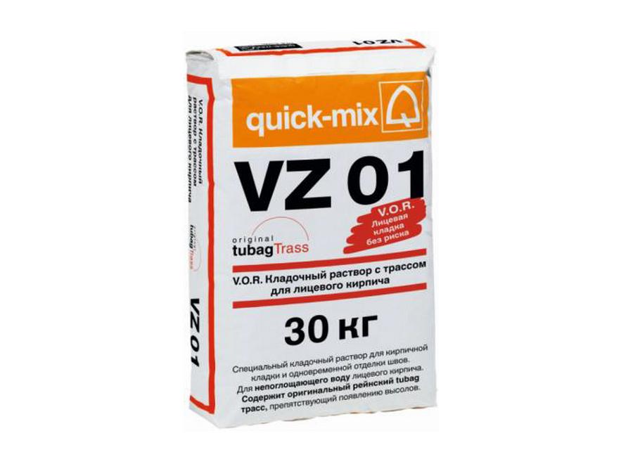 Кладочный раствор quick-mix VZ 01.N  жёлто-оранжевый 3-8 %
