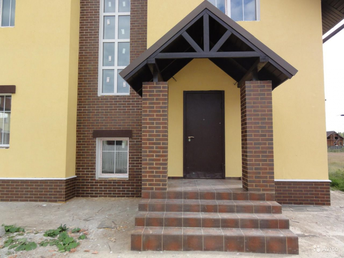 Клинкерная фасадная плитка под кирпич Paradyz Semir Brown