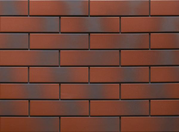 Клинкерная фасадная плитка под кирпич Rot Shadow 240*65*6.5 мм