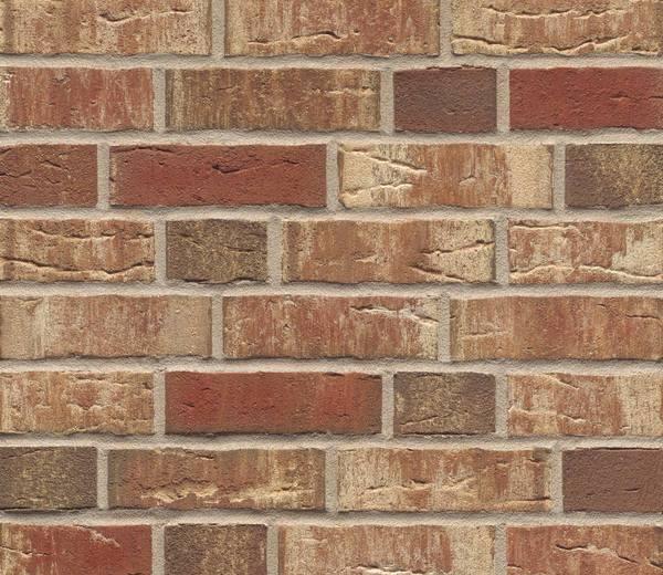 Фасадные термопанели с клинкерной плиткой Feldhaus Klinker R690 Sintra ardor blanca