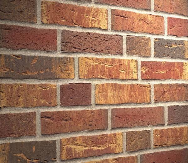 Клинкерная фасадная плитка Feldhaus Klinker R686 Sintra ardor calino NF14, 240*14*71 мм