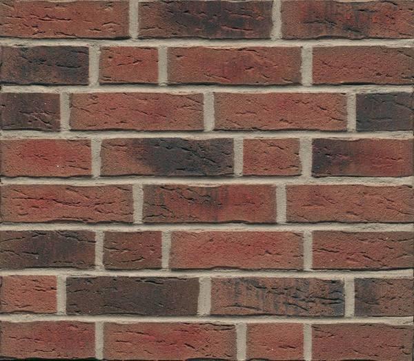 Клинкерная фасадная плитка Feldhaus Klinker R685 Sintra carmesi nelino NF14, 240*14*71 мм
