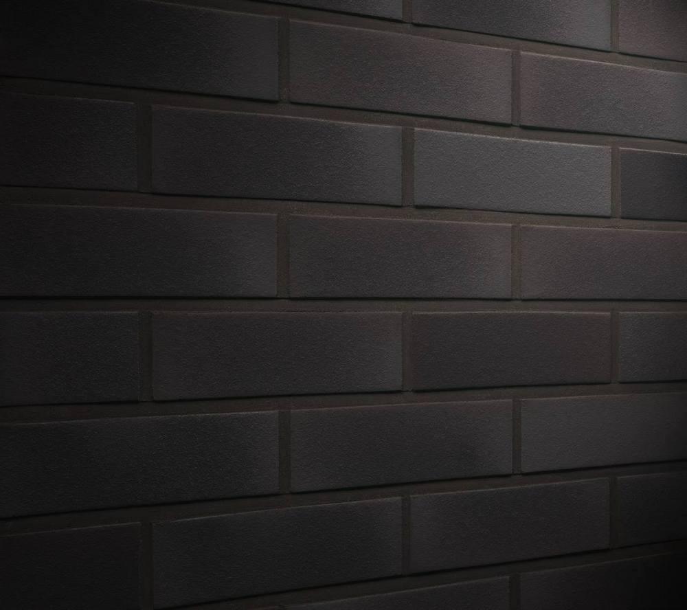 Клинкерная фасадная плитка Feldhaus Klinker R509 Geo ferrum liso