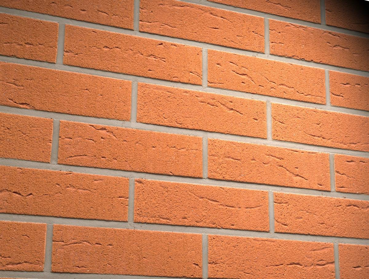 Фасадные термопанели с клинкерной плиткой Feldhaus Klinker R227 Terracotta rustico