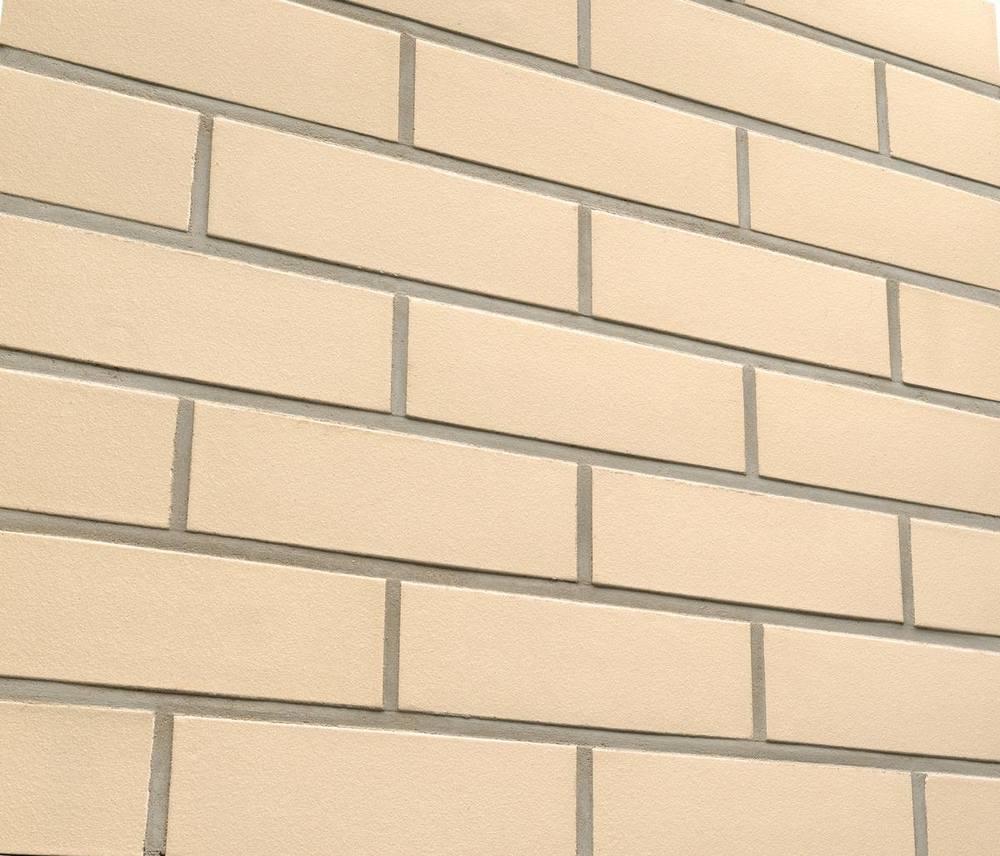 Клинкерная фасадная плитка Feldhaus Klinker R100 Perla liso