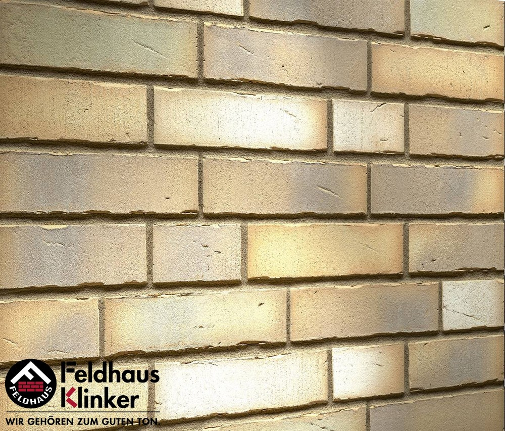 Клинкерная фасадная плитка Feldhaus Klinker R916 Vario sabiosa canuviri