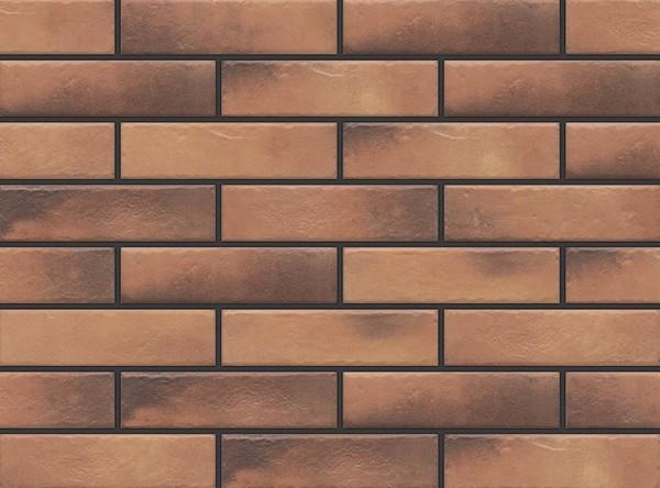 Фасадные термопанели с клинкерной плиткой Retro Brick Curry