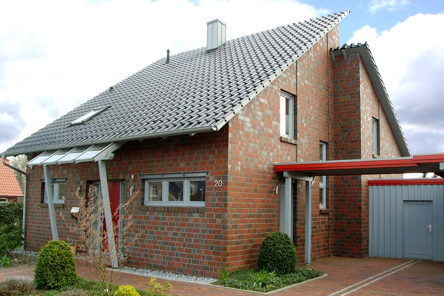 Клинкерный облицовочный кирпич Roben Greetsiel friesisch-bunt 2DF, 240х115х113