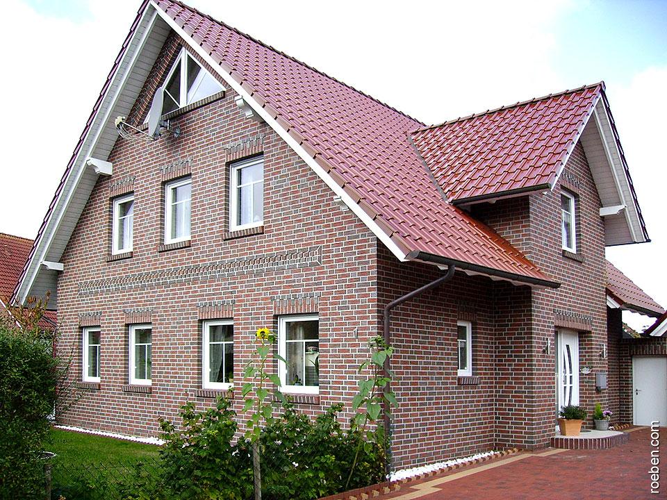 Клинкерный облицовочный кирпич Roben Jever friesisch-bunt NF, 240x115x71