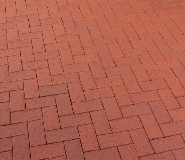 Тротуарная клинкерная брусчатка Feldhaus Klinker P402 DF gala plano