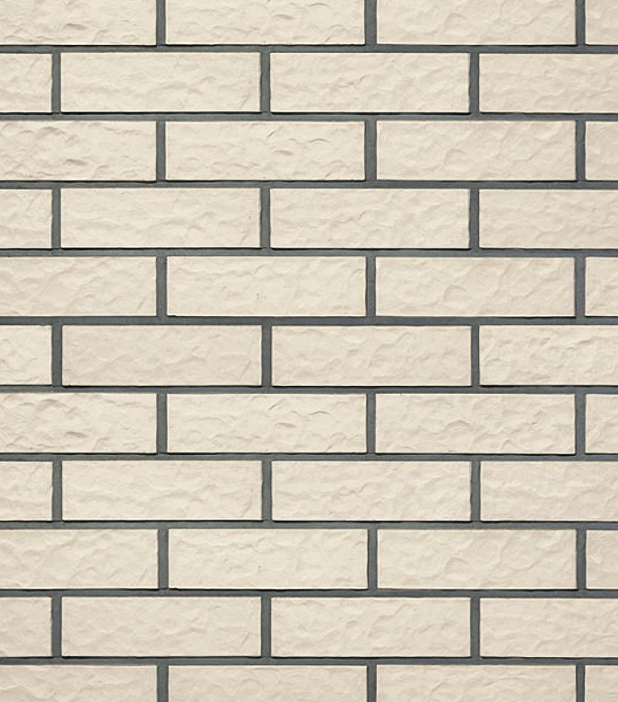 Клинкерная фасадная плитка под кирпич Roben Oslo perlweiß genarbt NF, 240*14*71 мм