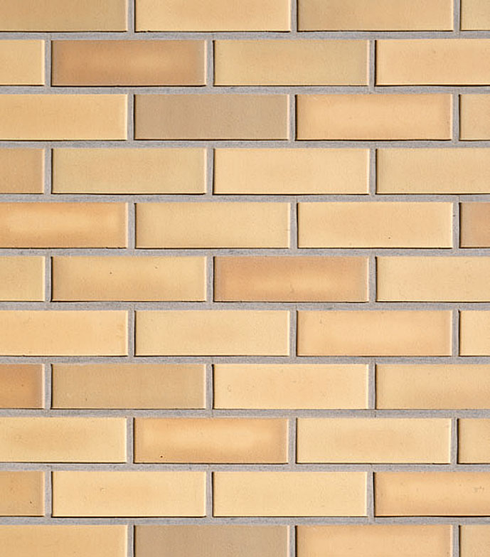 Клинкерная фасадная плитка под кирпич Roben Rimini gelb-bunt glatt, 240*9*71 мм