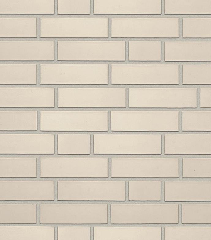 Клинкерная фасадная плитка под кирпич Roben Oslo perlweiß glatt, 240*9*71 мм