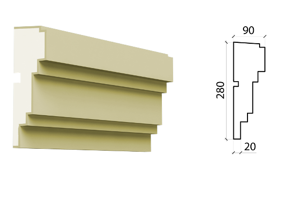 Межэтажный пояс MPF-533