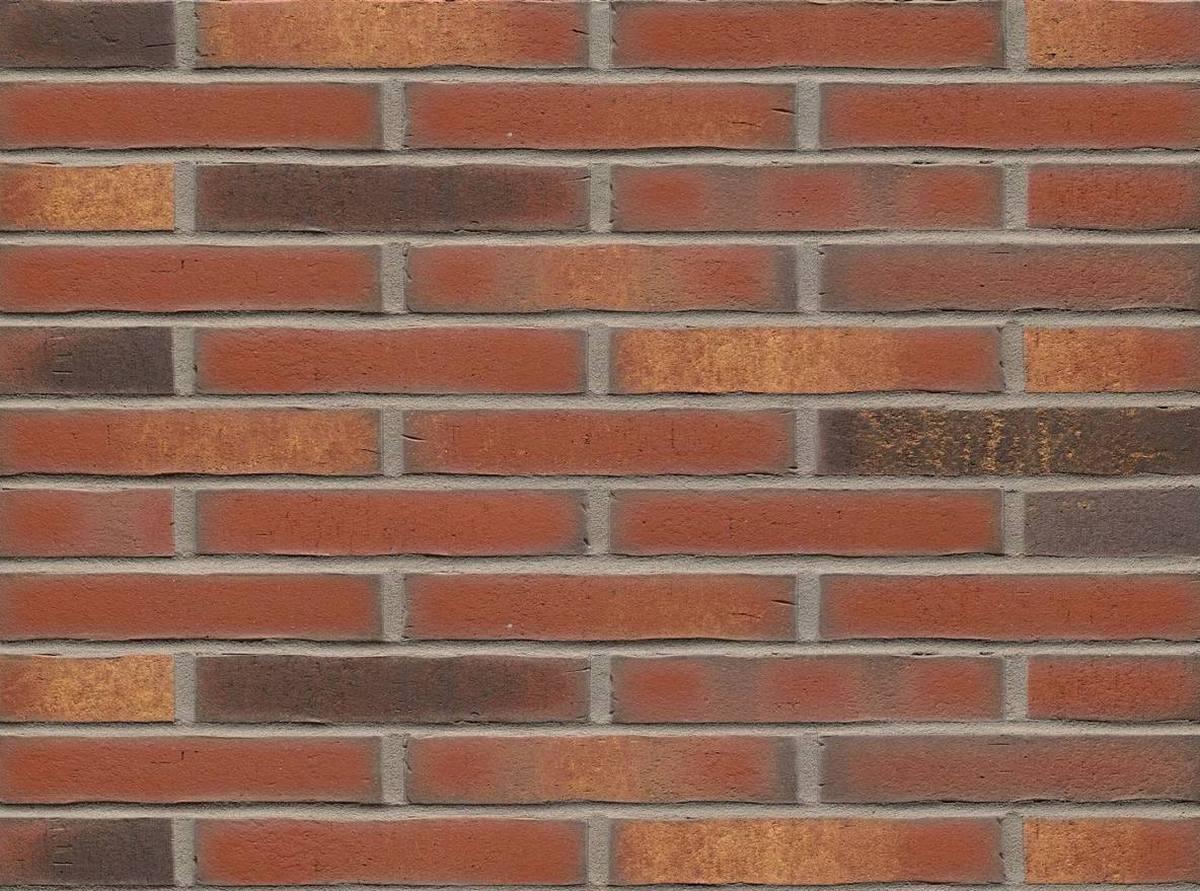 Клинкерная плитка Feldhaus Klinker ригель формата vascu ardor carbo R752LDF