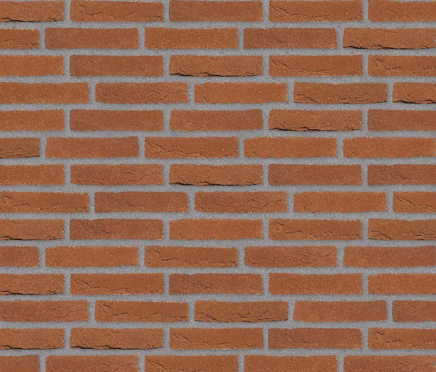Облицовочный кирпич ручной формовки Randers Tegl RT 333 rot handformziegel