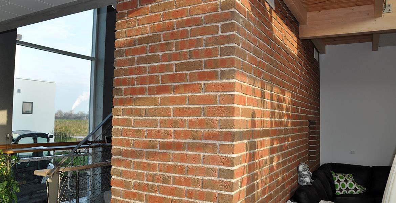 Облицовочный кирпич ручной формовки Randers Tegl RT 444 rotbunt handformziegel