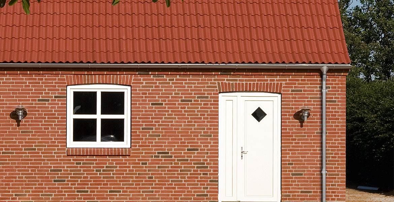 Облицовочный кирпич ручной формовки Randers Tegl RT 436 rotbunt handstrichziegel