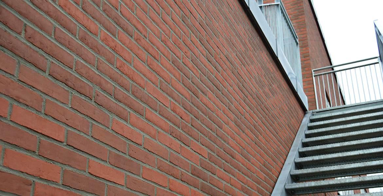 Облицовочный кирпич ручной формовки Randers Tegl RT 448 altrot Siena handstrichziegel
